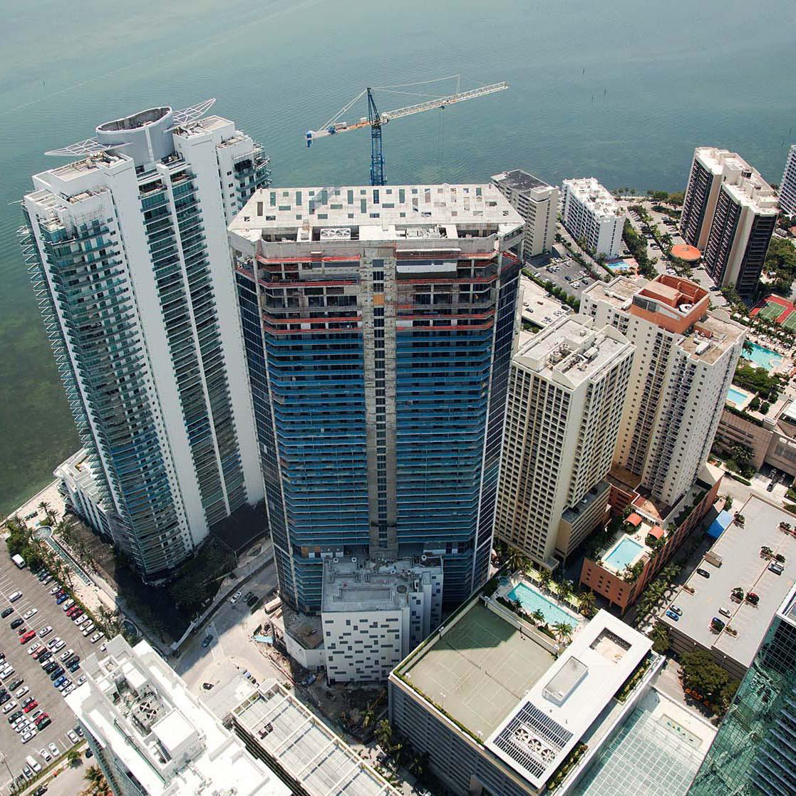 Sieger Suarez Architects Brickellhouse Miami Florida